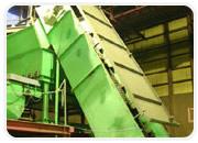 バーク堆肥の製造 解砕機