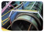 バーク堆肥の製造 トロメルによる攪拌・混合